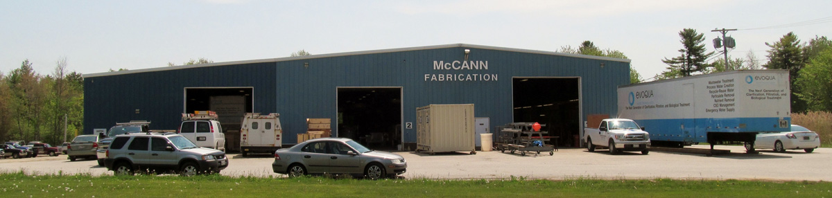 McCann Fabrication facility