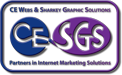 Sharkey Graphics Solutions and CE-Webs